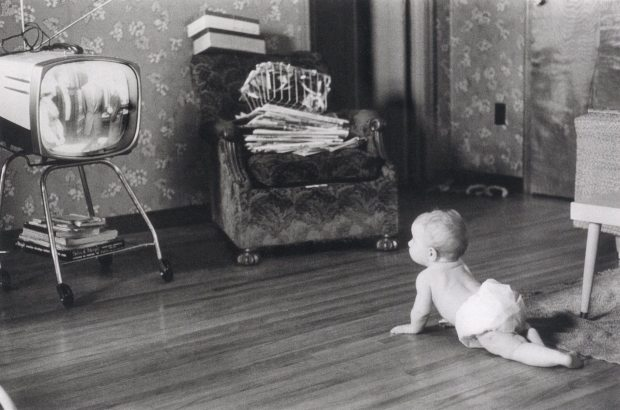 Kalamazoo, Michigan, ca. 1957. Posthumous digital reproduction from original contact sheet. Garry Winogrand Archive, Center for Creative Photography, University of Arizona.
