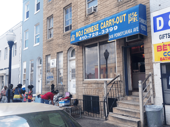 Fujianese immigrants Li Yu Chen and her husband have owned and operated No.1 Chinese Take-Out in Baltimore's Sandtown neighborhood since 1988.