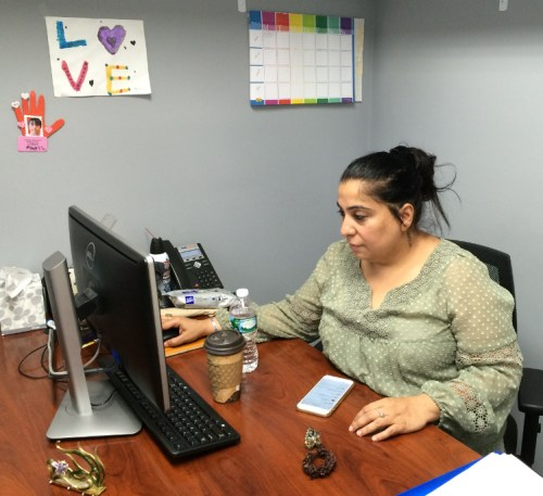 Pert Hora in her Richmond Hill office.
