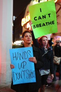 The death of Eric Garner sparked protests all over the country. Photo by Beverly Yuen Tompson, Creative Common