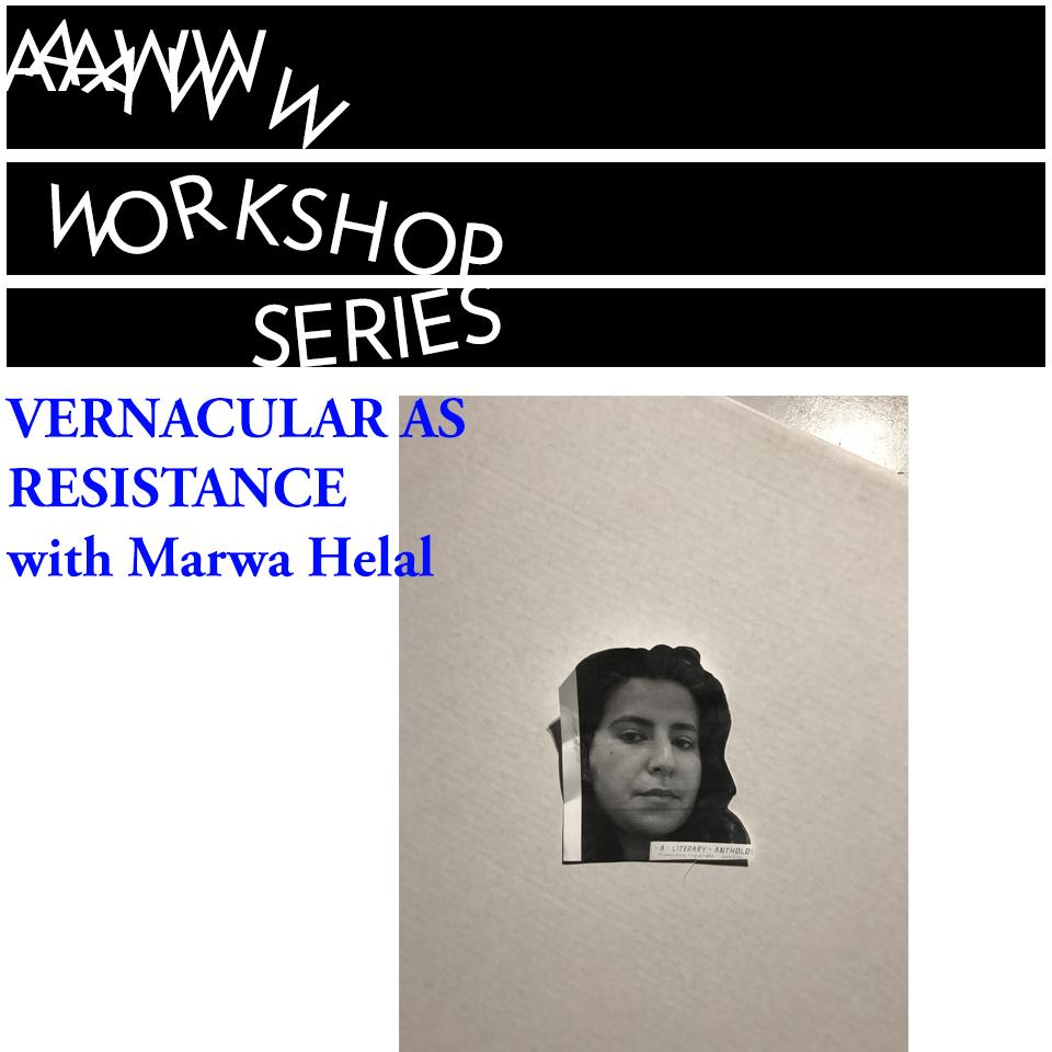 Vernacular as Resistance