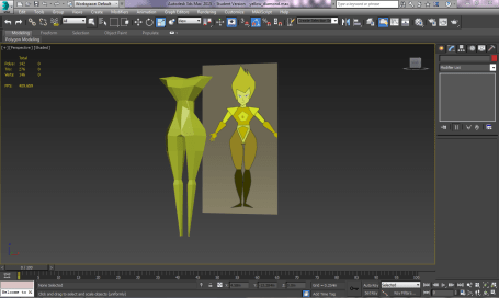 My 3D Character Model