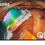 Samsung 55 Flat Smart 4K QLED TV سامسونج تلفزيون كيو إل إي دي