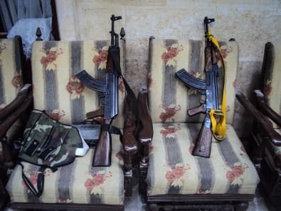 Resting Rifles