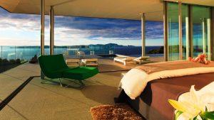 ανακαίνιση υπνοδωμάτιο με θέα στην θάλασσα