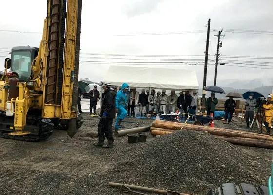 【H28/2/29】液状化対策工事・現場見学会 開催
