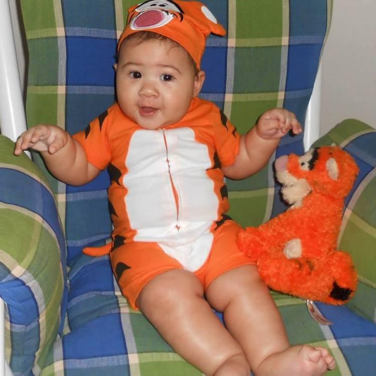 Xavier's first Halloween