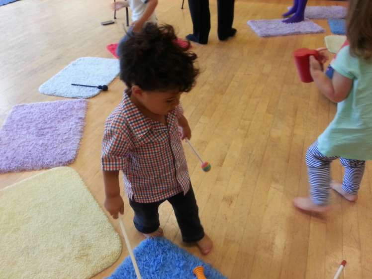 Mommy and me music class