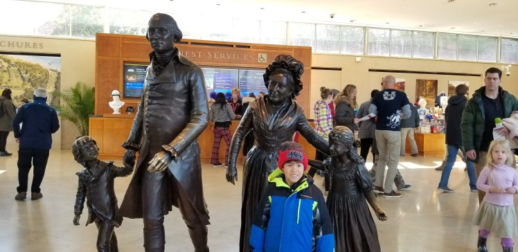 Mt. Veron Virgina Washington's Birthday Feb 2020