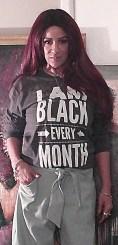 I am Black Every Month Black T-Shirt
