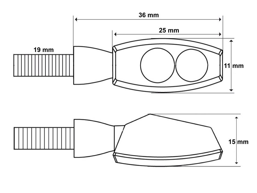 medium resolution of led blinker spark e gepr ft