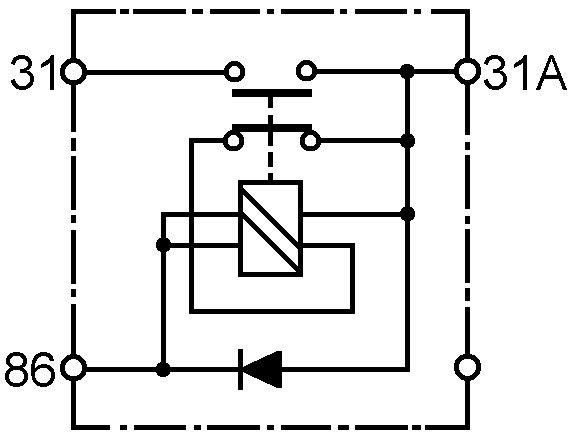 Batterij/hoofd/Massaschakelaar – Elektrisch 12 V