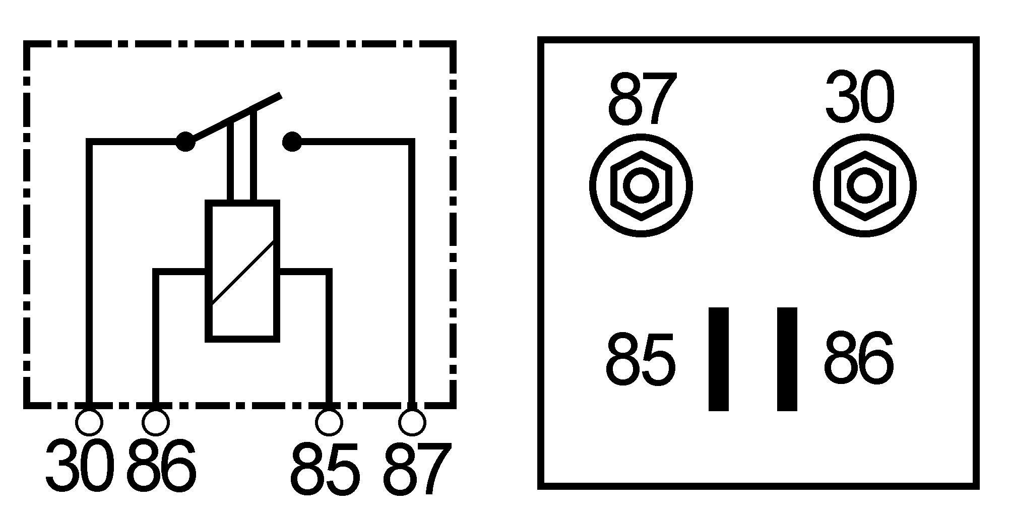 Relais 24v 60a 30 85 86 87 2x M6 Schroefcontact Ab