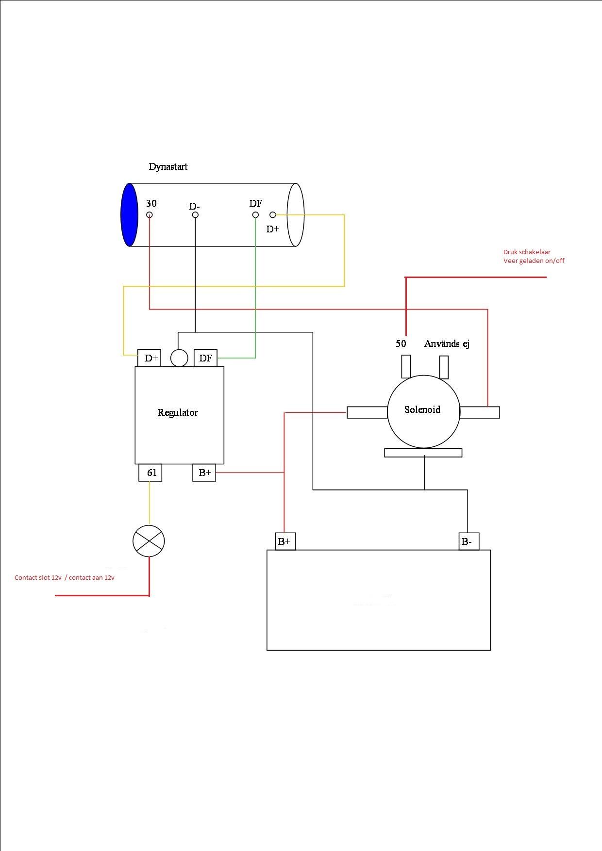 lucas dynastart wiring diagram cisco unified communications architecture volvo penta manual e books complete set met regelaar en startrelais md1complete