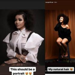 BBNaija: Nengi effortlessly looks stunning as she dazzles in her natural hair