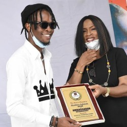 BBNaija: Laycon Gets Recognition for Global Advocate for Sickle Cell Anaemia (Photos)