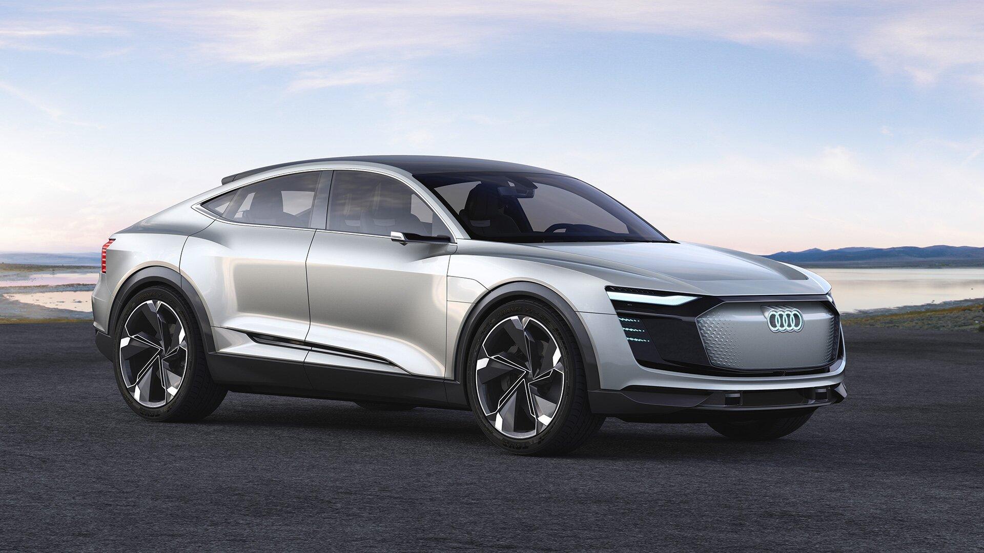 Audi Etron Quattro Consept