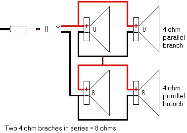 Wiring Diagram 4 Ohm Speakers In Series, Wiring, Get Free