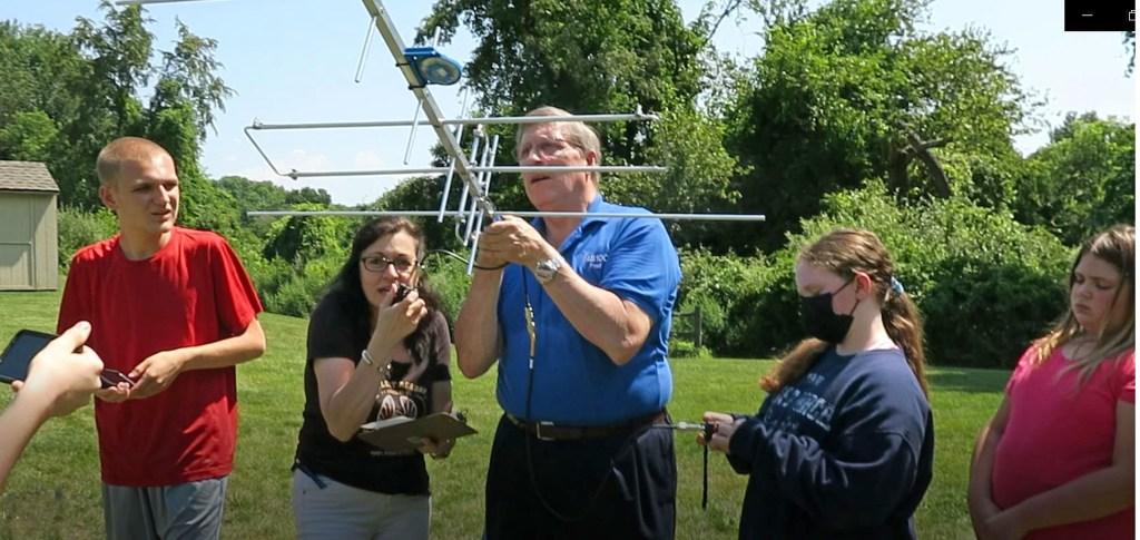 Satellite Contact at School