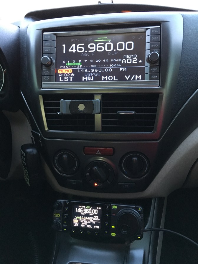 IC-7000 in Subaru