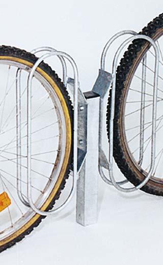 Potelet pour griffe vélo