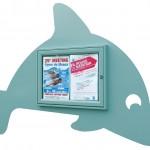 vitrines thèmes aquatique dauphin