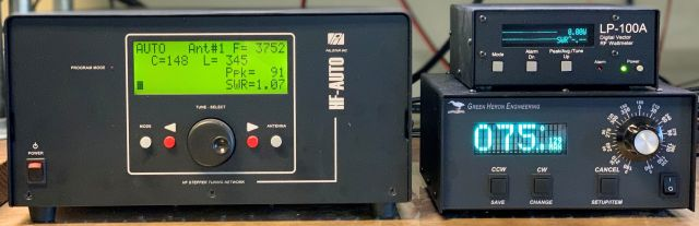 HF-Auto LP-100A & Green Heron Controller