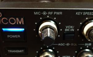 IC-7851 Mic Gain Control