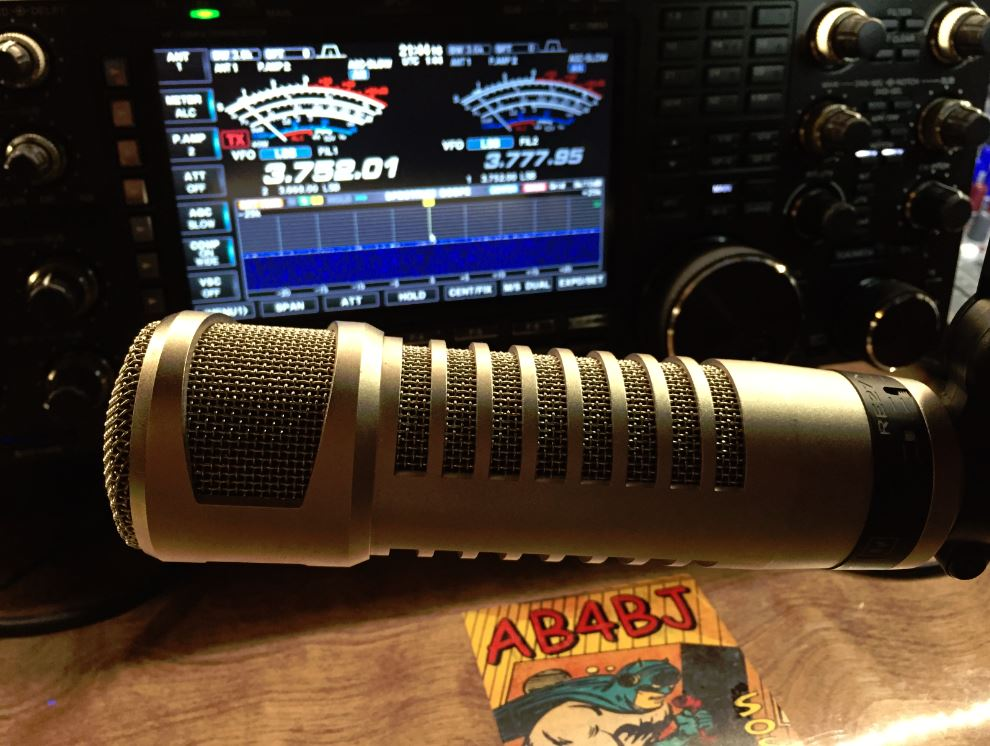 Audio Settings for the Icom IC-7851 and the Electro-Voice