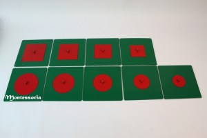 187 - Cercles et carrés métalliques