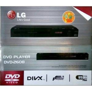 LG DVD Player With USB Black