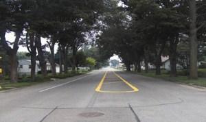 Lane Narrowing or Street Narrowing