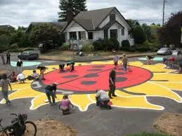 Painted Intersections
