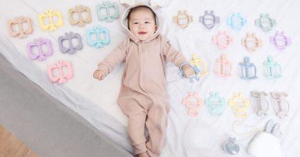 嫩嬰安心用!【韓國MAMA's TEM美型固齒器 韓國Kangaruru防跌落安全床圍】