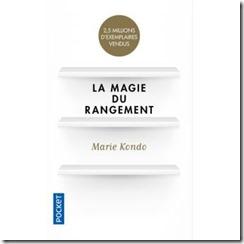 Couverture livre Marie Kondo _ La magie du rangement