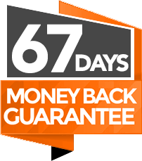 67 Days Money Back Guarantee