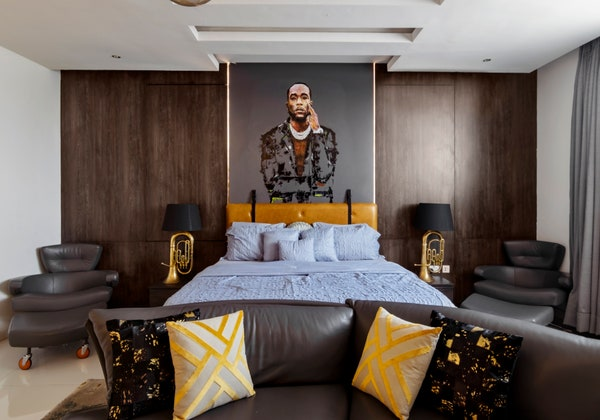 Inside Burna Boy's Seven Bedroom Lekki Luxury Home