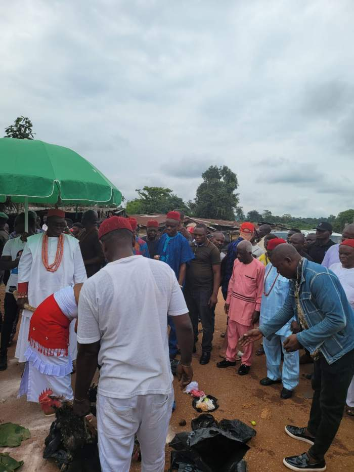 Thugs Attack Obi Of Ogwashi-Uku, HRM Obi Ifechukwude Aninshi Okonjo II