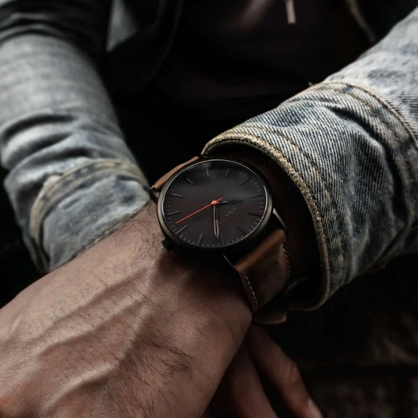 Reloj Verne Nogal