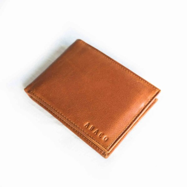Billetera Bifold Camel