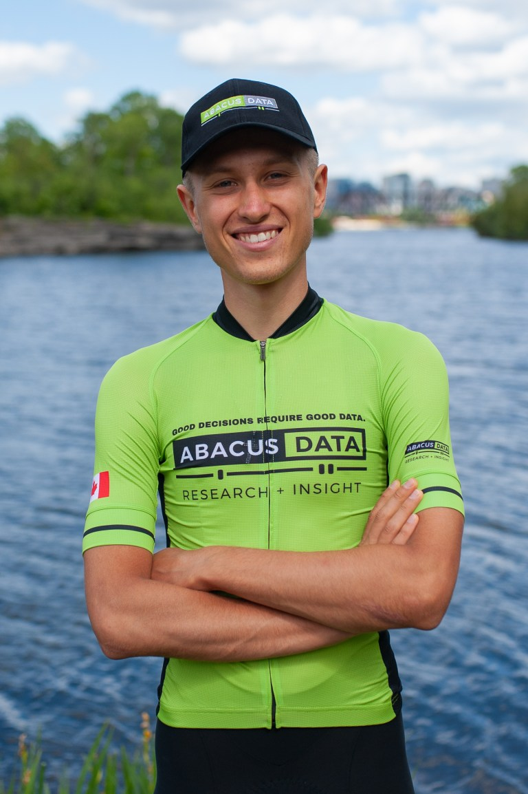 Introducing Carson Miles – an Ottawa-based road cyclist being supported by Abacus Data