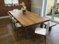 Rustic Oak Dining Table | Abacus Tables