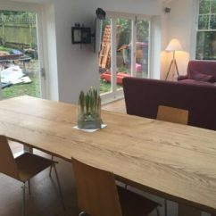 Large Kitchen Table Contemporary Designs Oak Dining Abacus Tables Made In The Uk Project 314