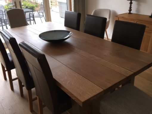 large kitchen table light fixtures for oak dining abacus tables made in the uk project 591
