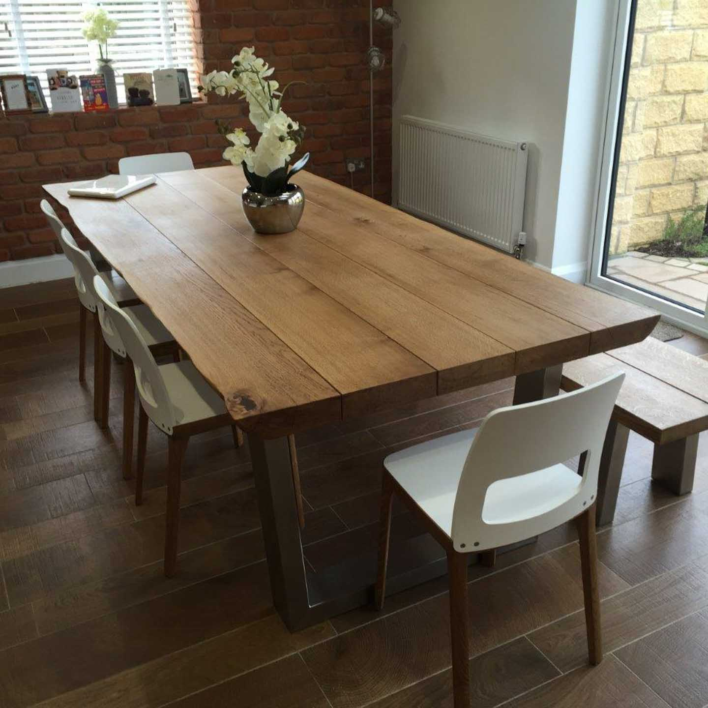 Rustic Dining Table  Dining Table Set  Abacus Tables