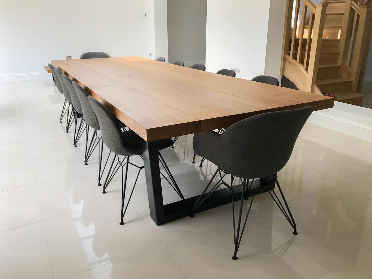 12 Seater Dining Table and Chairs  Abacus Tables