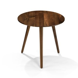 Article Amoeba Wild Walnut End Table