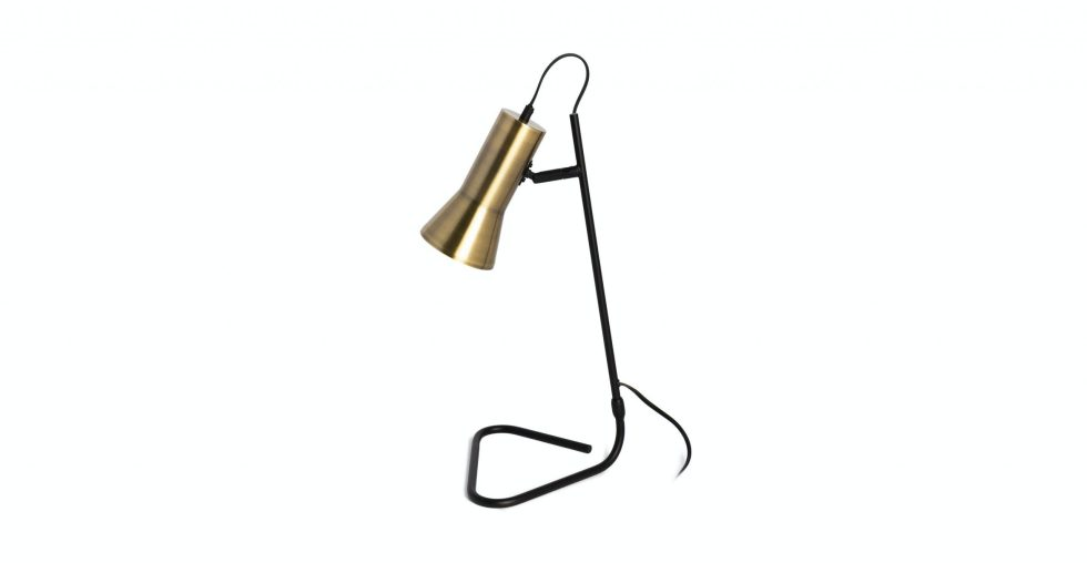 Article Torch Black Table Lamp