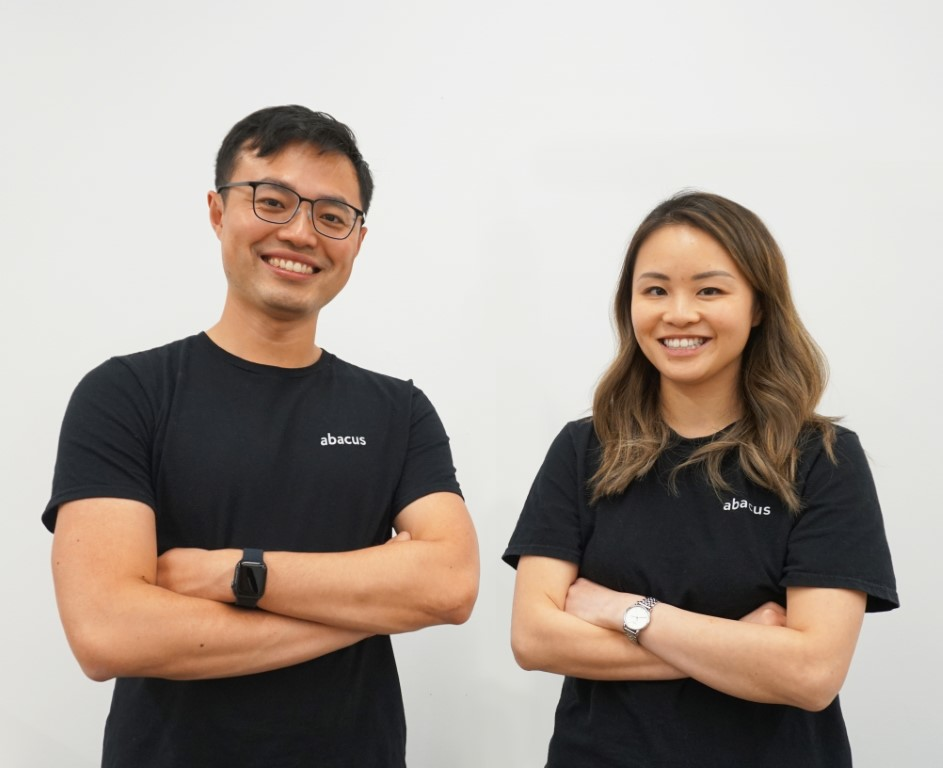 Abacus founders - Chang and Steph