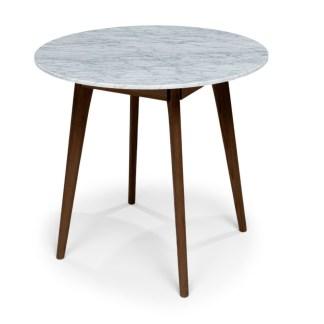 Mara Walnut Cafe Table front